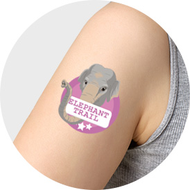 Offset Printing Custom Temporary Tattoo