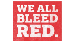 we_all_bleed_red Custom Temporary Tattoo